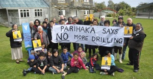parihaka says no more drilling 2013