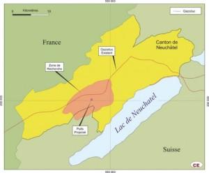Map Neuchâtel