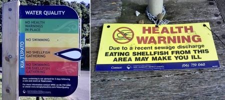 Waitara warning signs combined April 2017 Janice Liddle