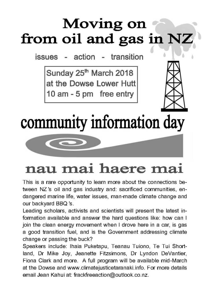 Dowse March 25 info day leaflet