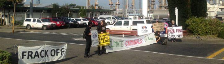 Kapuni Ballance urea plant protest
